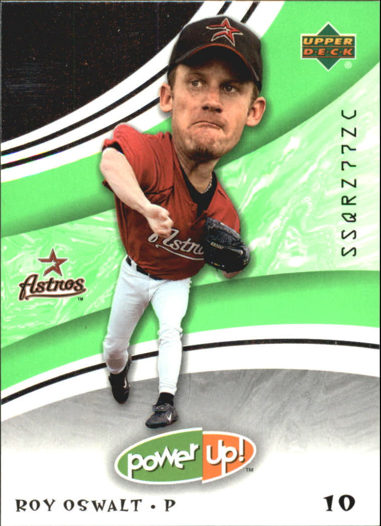 2004 Upper Deck Power Up #16 Roy Oswalt