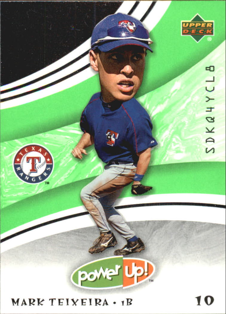 2004 Upper Deck Power Up #19 Mark Teixeira