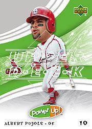 2004 Upper Deck Power Up #41 Albert Pujols