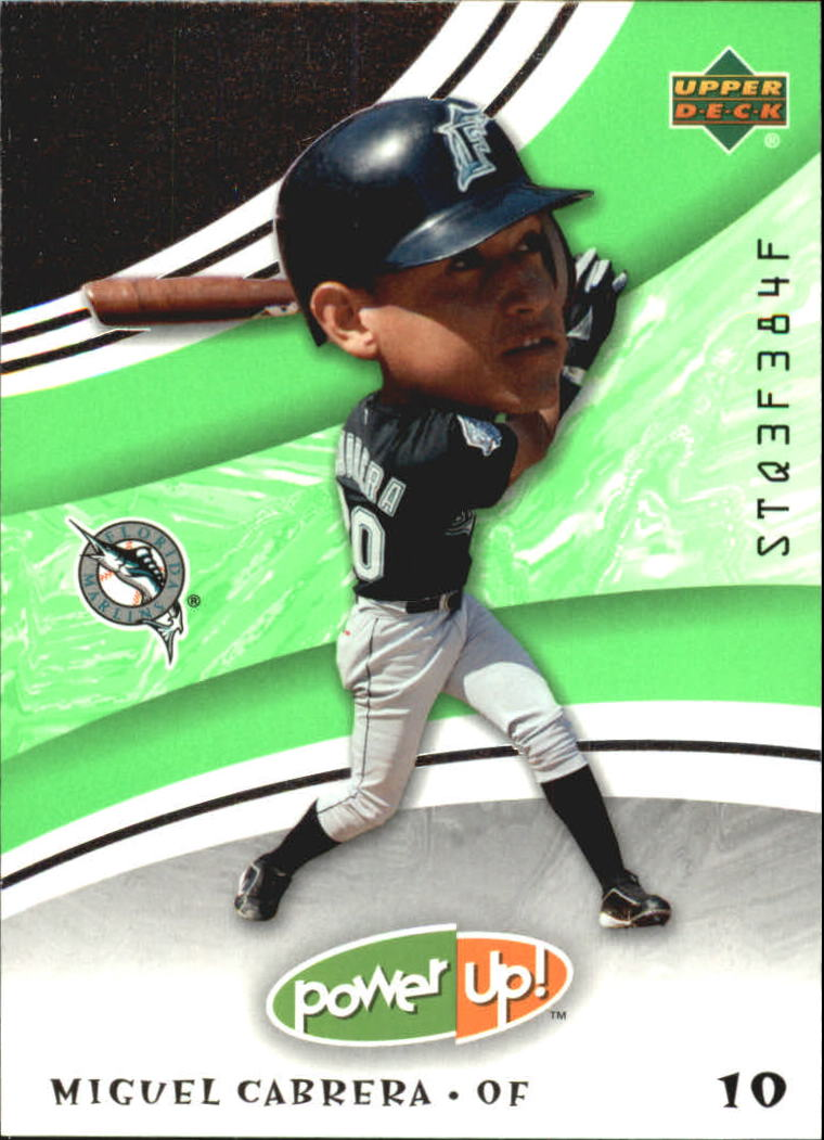 2004 Upper Deck Power Up #63 Miguel Cabrera