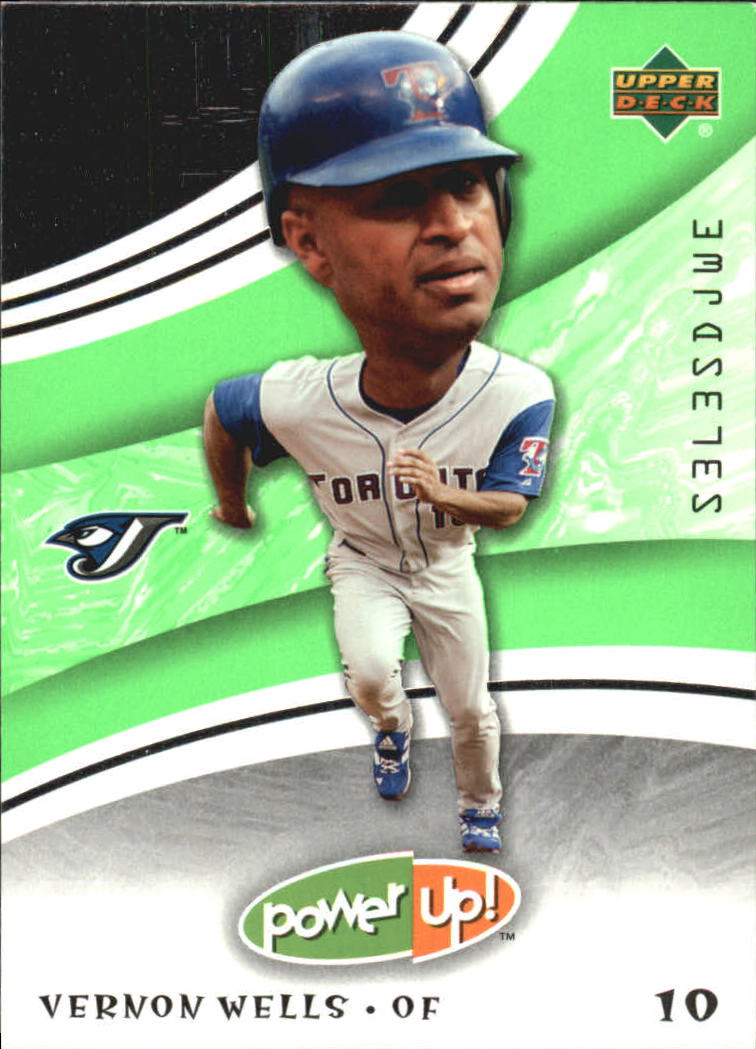 2004 Upper Deck Power Up #98 Vernon Wells