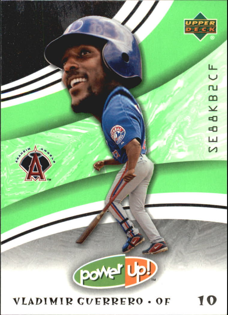 2004 Upper Deck Power Up #99 Vladimir Guerrero