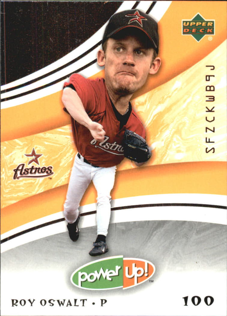 2004 Upper Deck Power Up Orange #16 Roy Oswalt