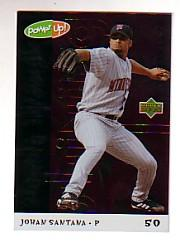 2004 Upper Deck Power Up Shining Through #67 Johan Santana