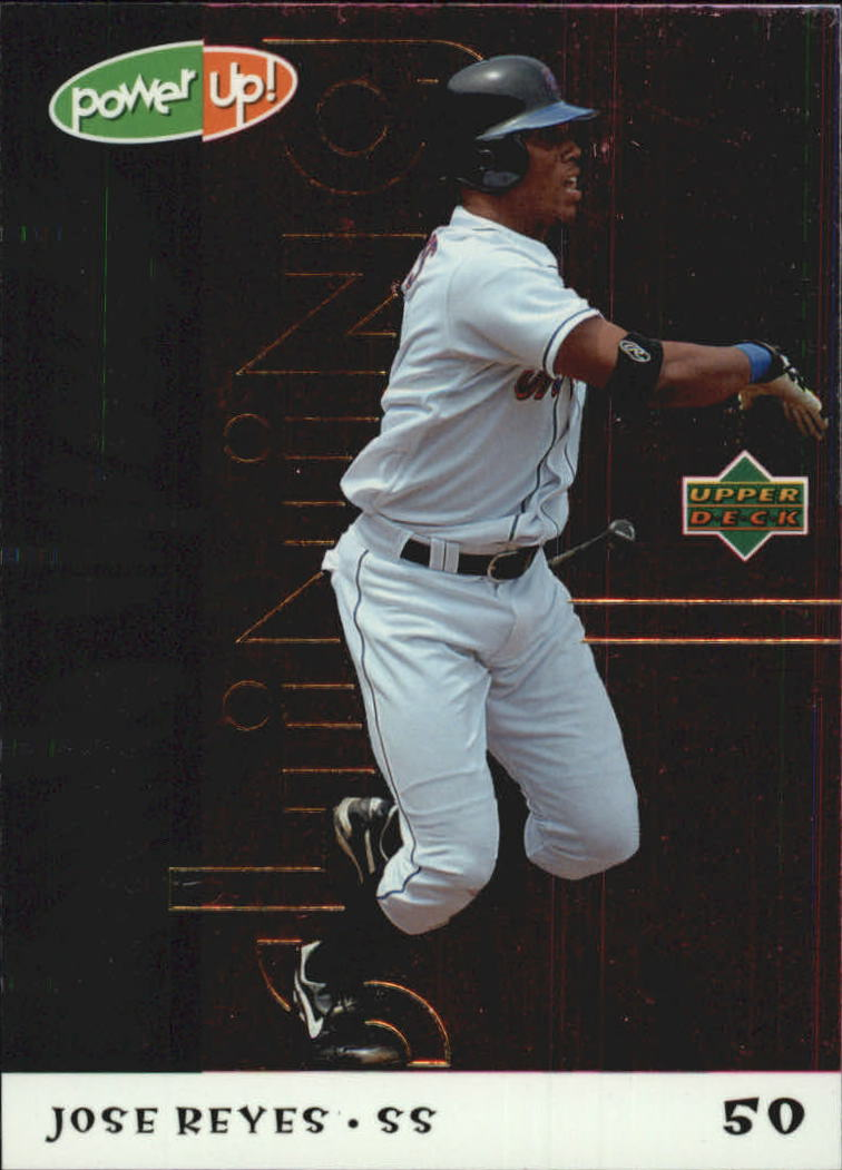 2004 Upper Deck Power Up Shining Through #90 Jose Reyes