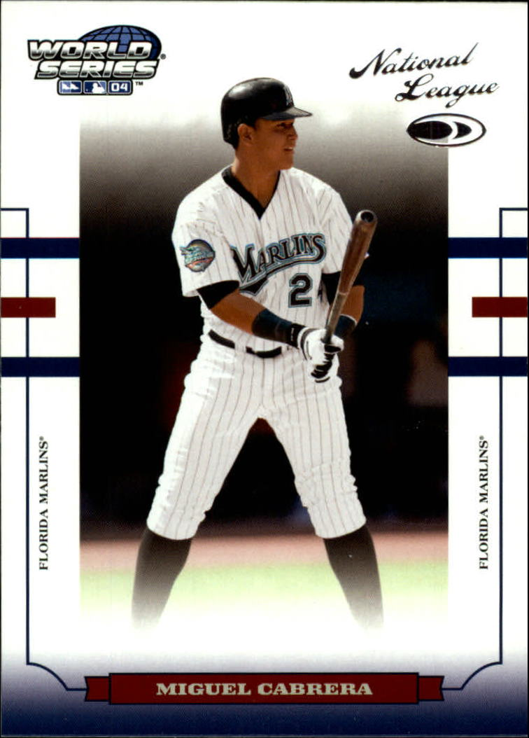 2004 Donruss World Series #76 Miguel Cabrera