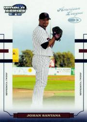 2004 Donruss World Series #105 Johan Santana