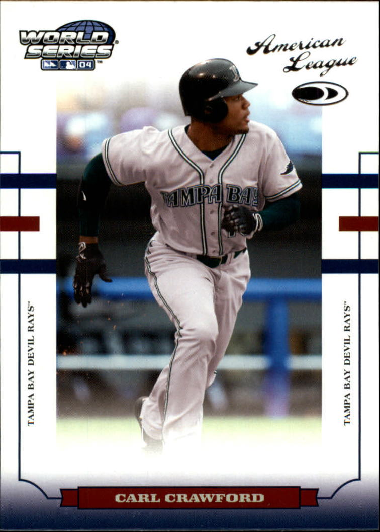 2004 Donruss World Series #163 Carl Crawford