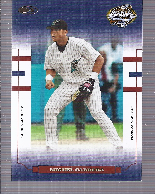 2004 Donruss World Series Blue #2 Miguel Cabrera