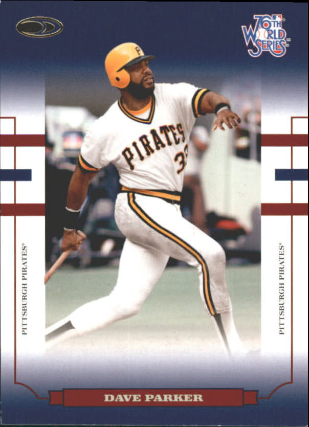 2004 Donruss World Series Blue #78 Dave Parker Pirates