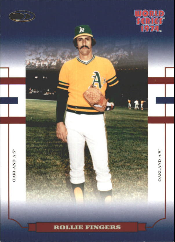 2004 Donruss World Series Blue #86 Rollie Fingers