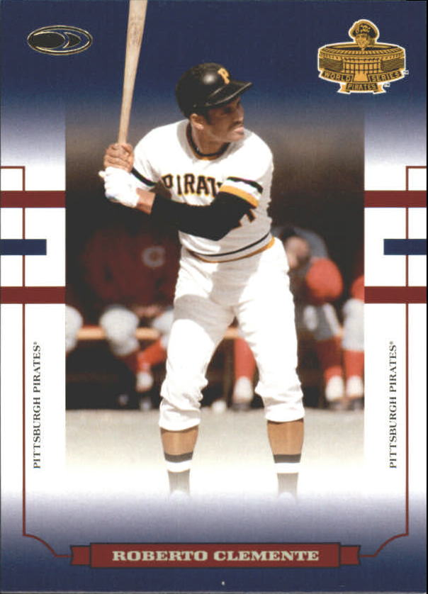 2004 Donruss World Series Blue #90 Roberto Clemente