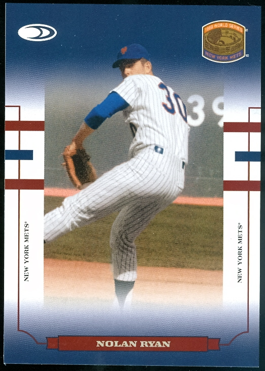 2004 Donruss World Series Blue HoloFoil 50 #94 Nolan Ryan