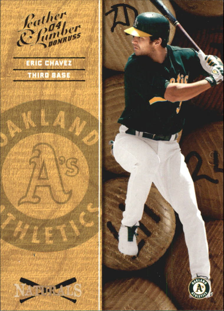 2004 Leather and Lumber Naturals #1 Eric Chavez