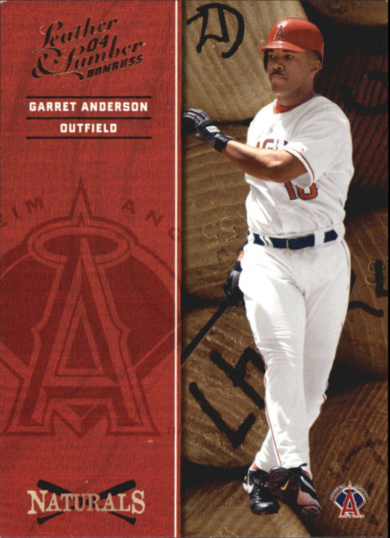 2004 Leather and Lumber Naturals #2 Garret Anderson