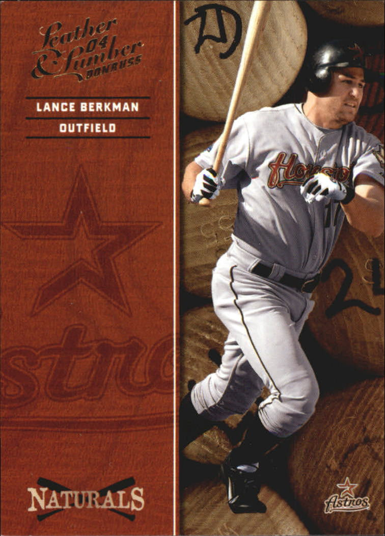 2004 Leather and Lumber Naturals #3 Lance Berkman