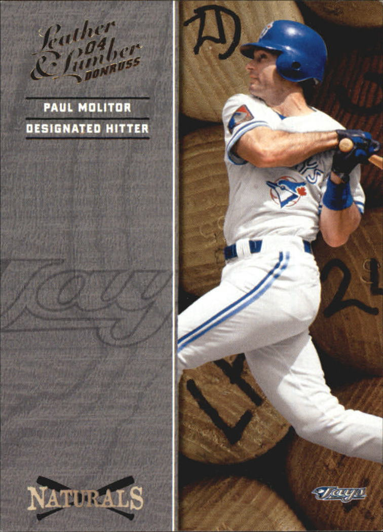 2004 Leather and Lumber Naturals #4 Paul Molitor