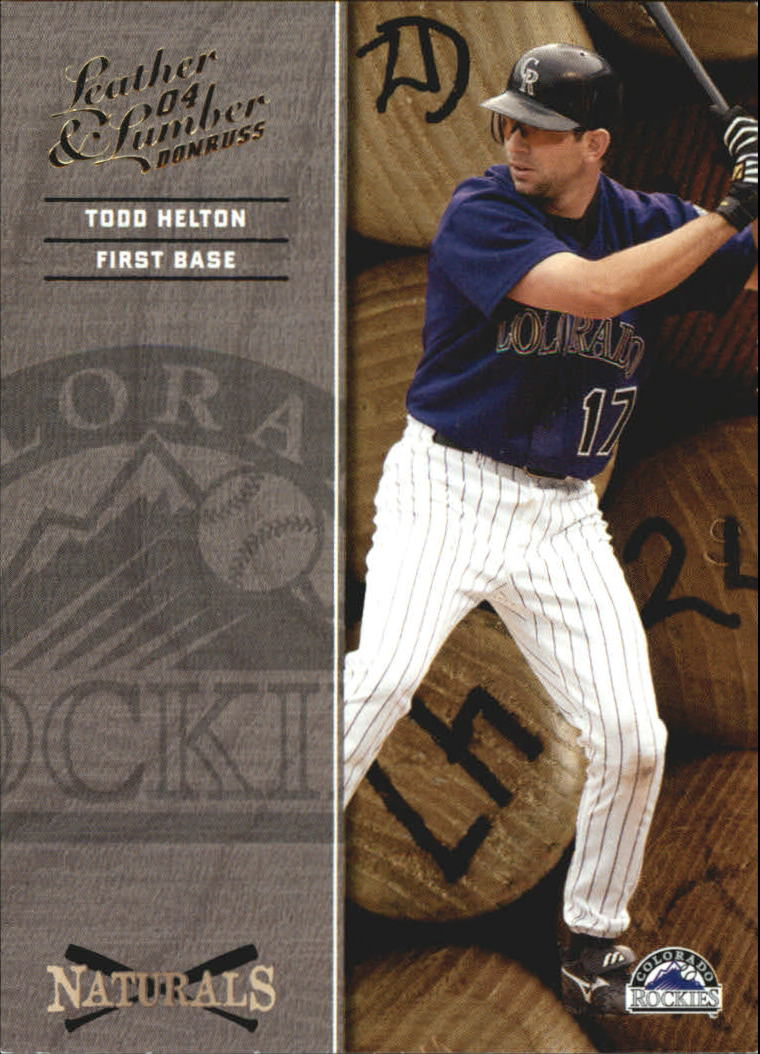 2004 Leather and Lumber Naturals #7 Todd Helton