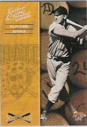 2004 Leather and Lumber Naturals Silver #6 Ralph Kiner