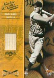 2004 Leather and Lumber Naturals Bat #6 Ralph Kiner/250