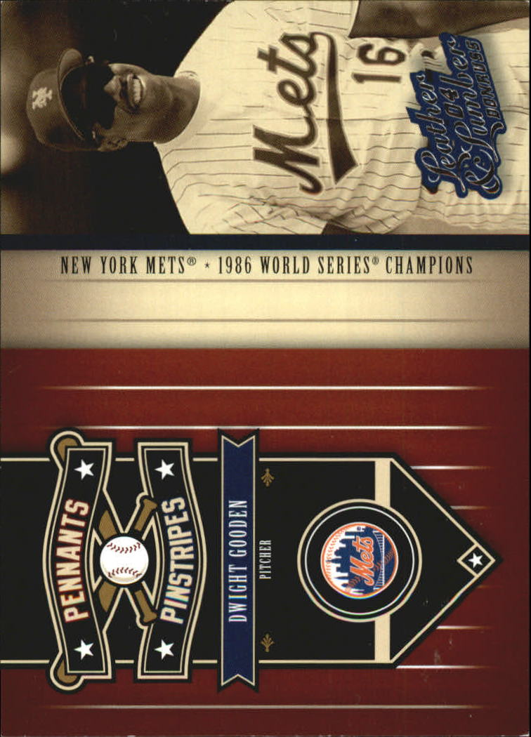 2004 Leather and Lumber Pennants/Pinstripes #4 Dwight Gooden