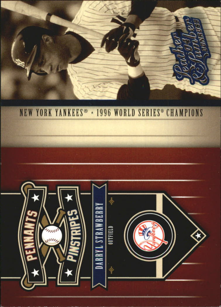 2004 Leather and Lumber Pennants/Pinstripes #5 Darryl Strawberry