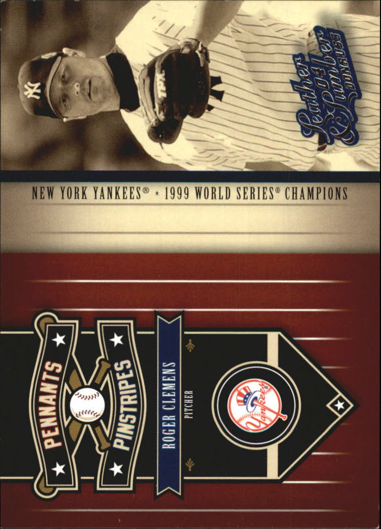 2004 Leather and Lumber Pennants/Pinstripes #6 Roger Clemens