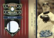 2004 Leather and Lumber Pennants/Pinstripes Materials #6 Roger Clemens Jsy/250
