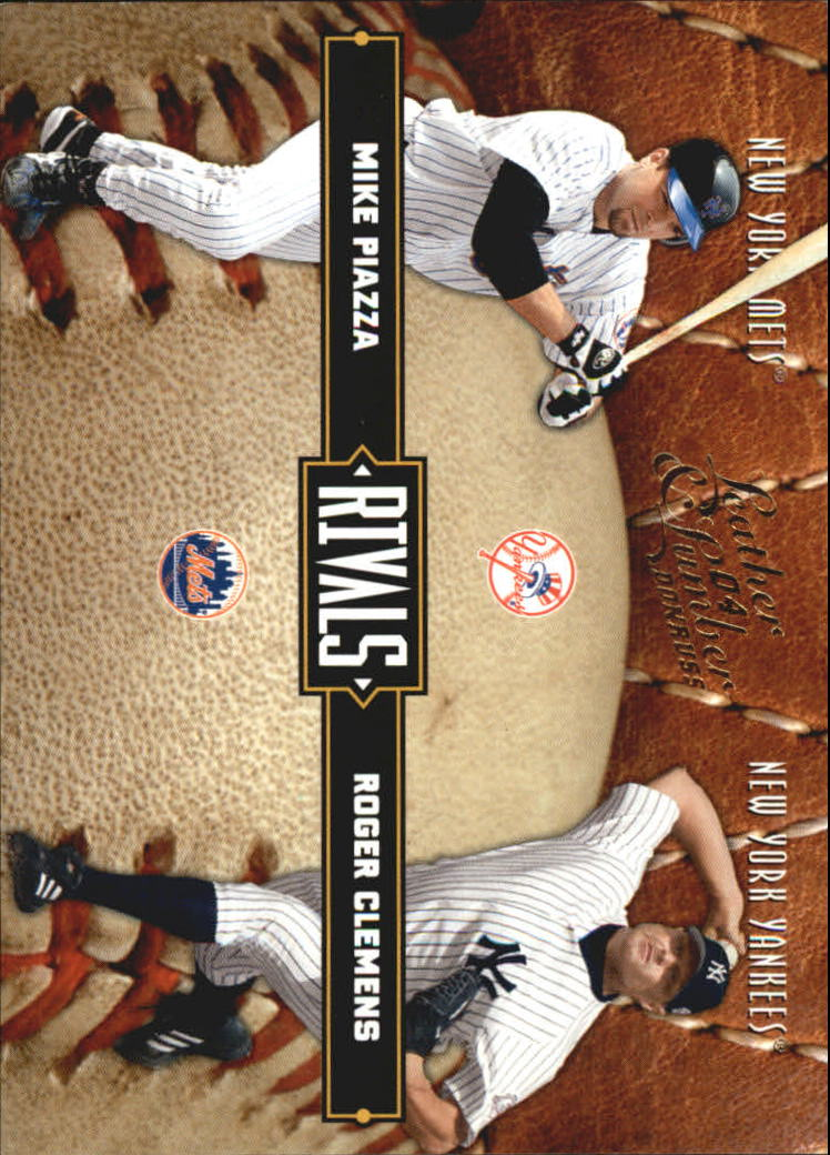 2004 Leather and Lumber Rivals #5 R.Clemens/M.Piazza