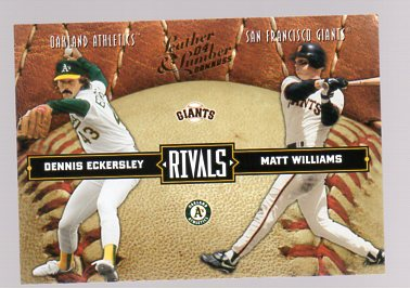 2004 Leather and Lumber Rivals #6 D.Eckersley/M.Williams