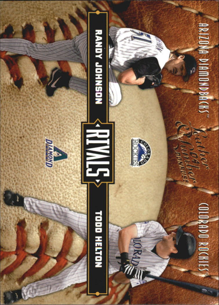 2004 Leather and Lumber Rivals #11 R.Johnson/T.Helton