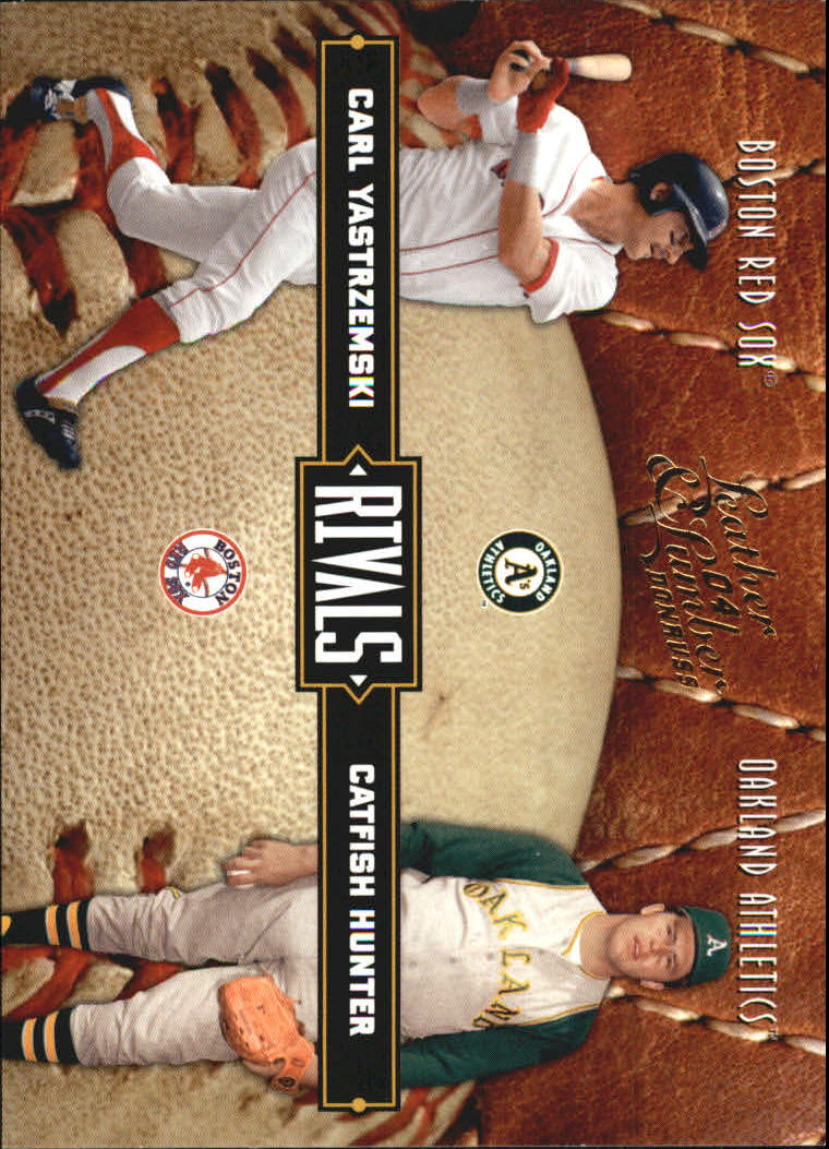 2004 Leather and Lumber Rivals #24 C.Yastrzemski/C.Hunter