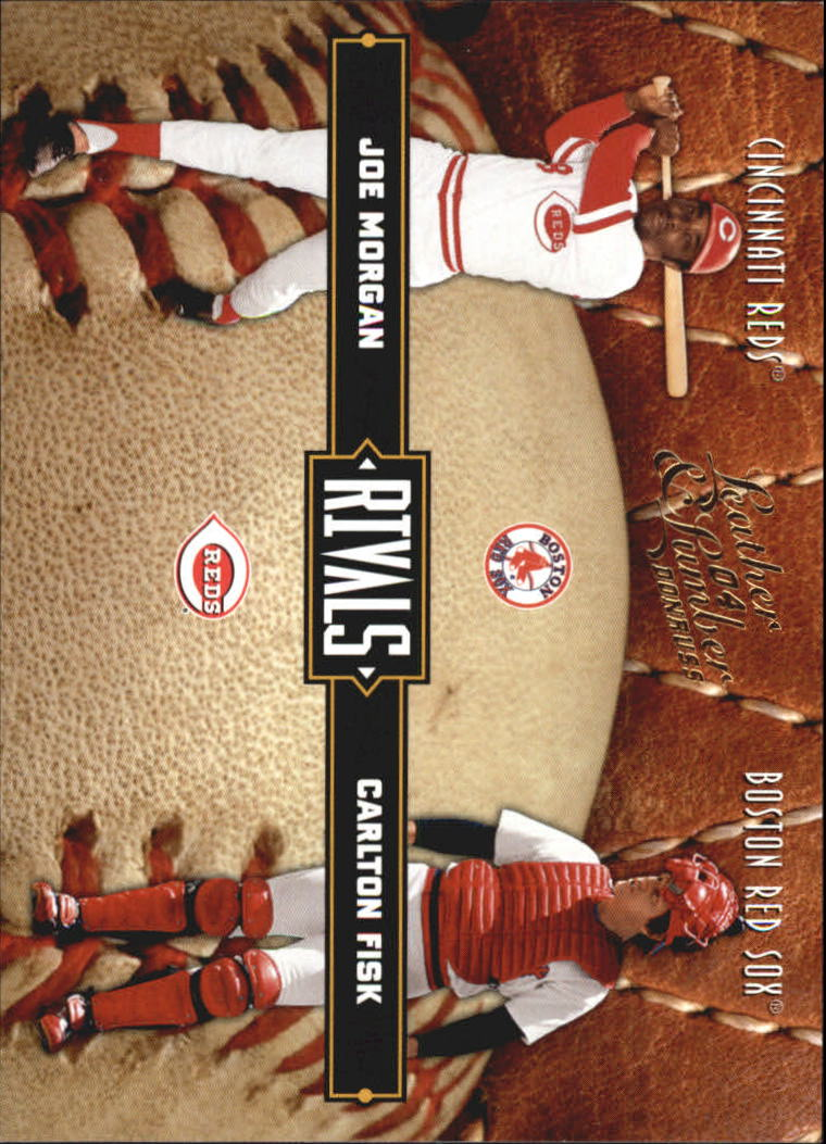2004 Leather and Lumber Rivals #26 C.Fisk/J.Morgan