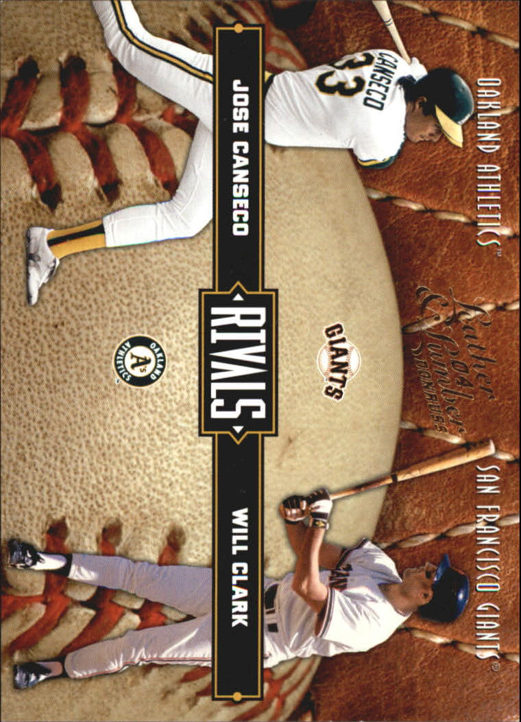 2004 Leather and Lumber Rivals #29 J.Canseco/W.Clark