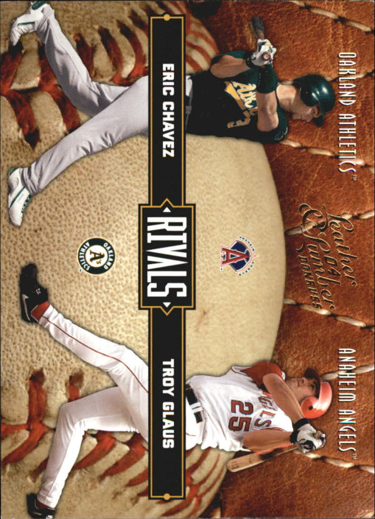 2004 Leather and Lumber Rivals #33 T.Glaus/E.Chavez