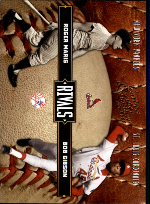 2004 Leather and Lumber Rivals #35 B.Gibson/R.Maris