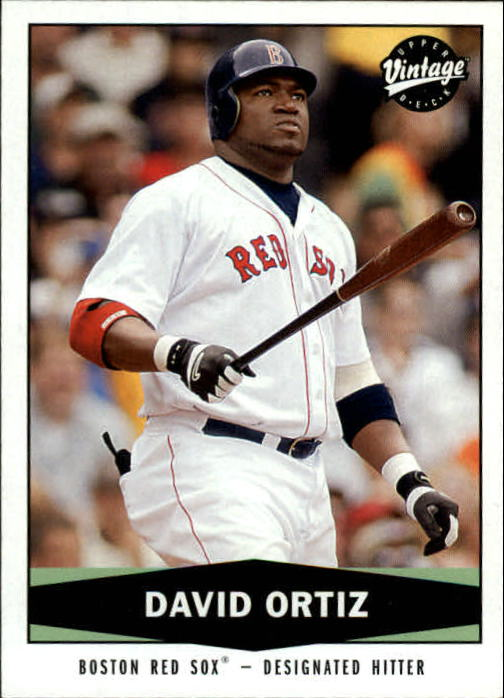2004 Upper Deck Vintage #209 David Ortiz