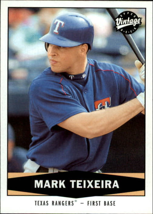 2004 Upper Deck Vintage #262 Mark Teixeira