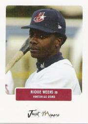 2004 Just Prospects #87 Rickie Weeks