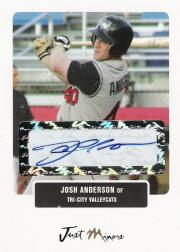 2004 Just Prospects Autographs #2 Josh Anderson/825 *