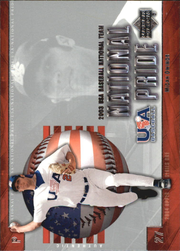 2004 Upper Deck National Pride #2 Micah Owings