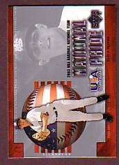 2004 Upper Deck National Pride #16 Dustin Pedroia