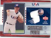 2004 Upper Deck National Pride Jersey 1 #5 Justin Verlander