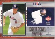 2004 Upper Deck National Pride Jersey 1 #16 Dustin Pedroia