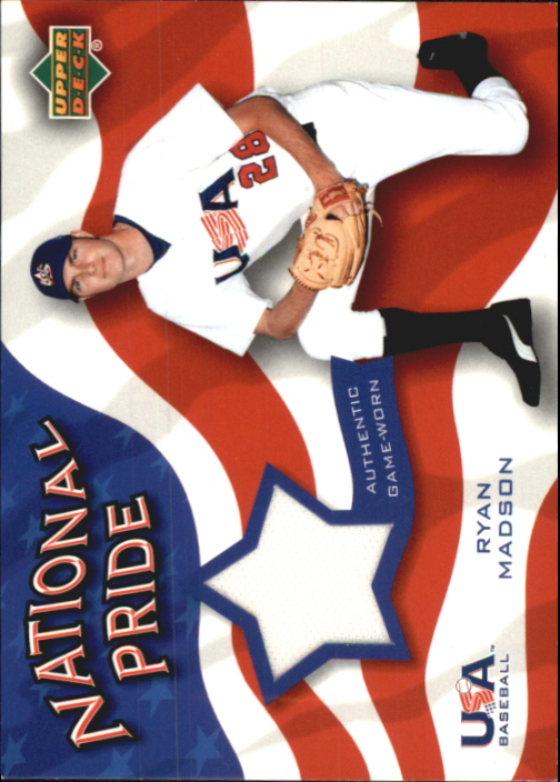 2004 Upper Deck National Pride Memorabilia 2 #RMP Ryan Madson Pants