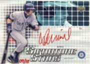 2004 Upper Deck Signature Stars Red Ink 1 #IS1 Ichiro Suzuki