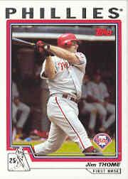 2004 Topps #1 Jim Thome