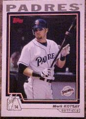 2004 Topps #3 Mark Kotsay