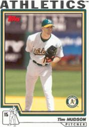 2004 Topps #30 Tim Hudson