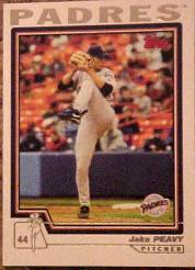 2004 Topps #37 Jake Peavy
